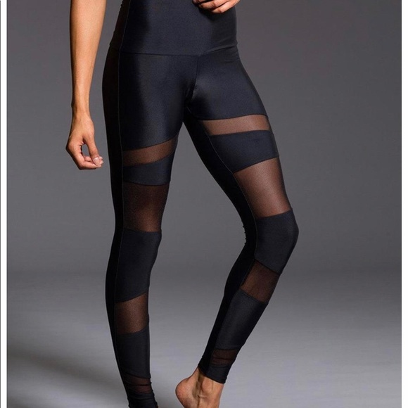 928fca81be Onzie high waist mesh bondage leggings. M_5bf4809b9539f7080a674d8d